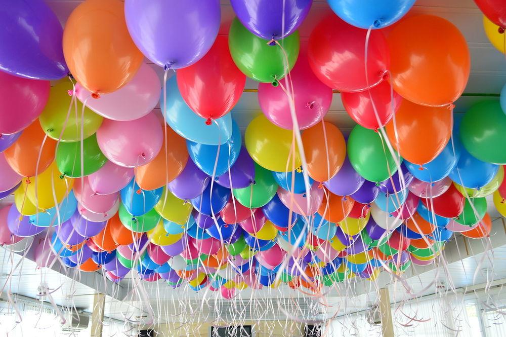 фото шаров на день рождения