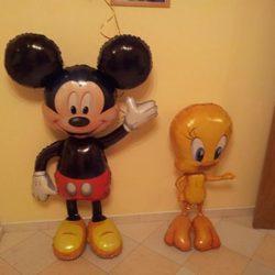Ходячие фигуры из воздушных шаров