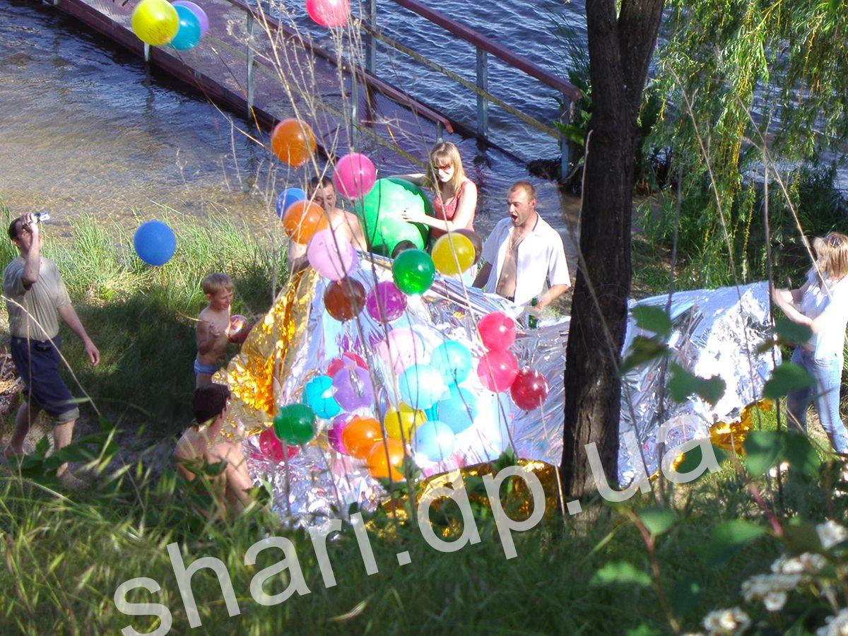 cherepashka_ninzya_is_vozdushnih_sharov