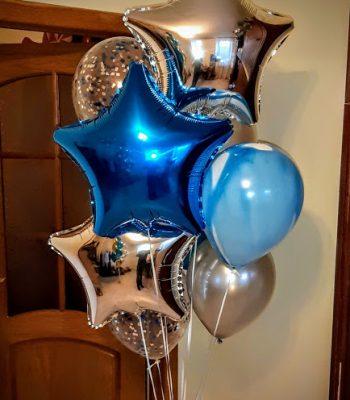 Шарики из фольги на день рождения